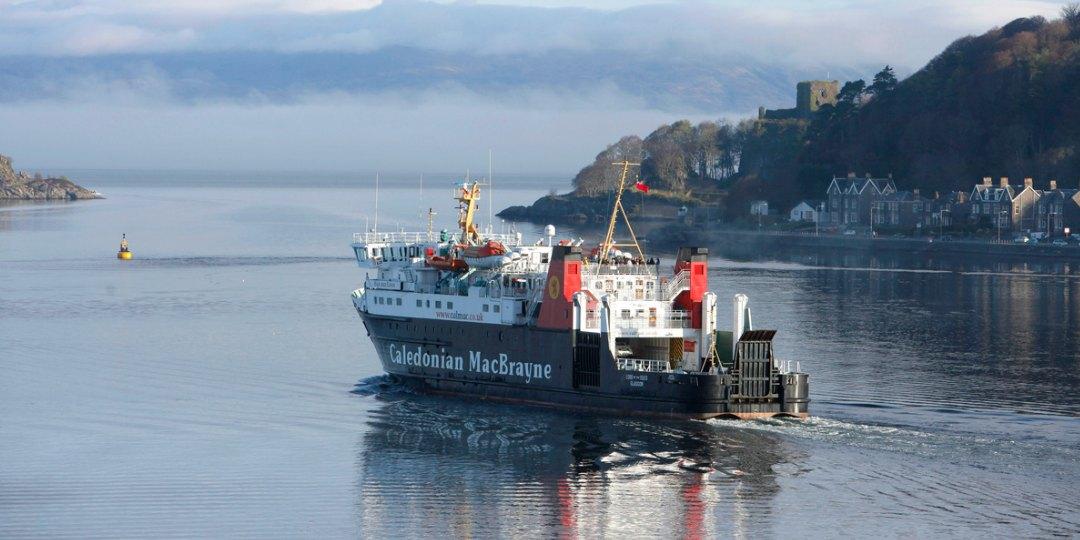 CalMac Ferry Oban Argyll Scotland