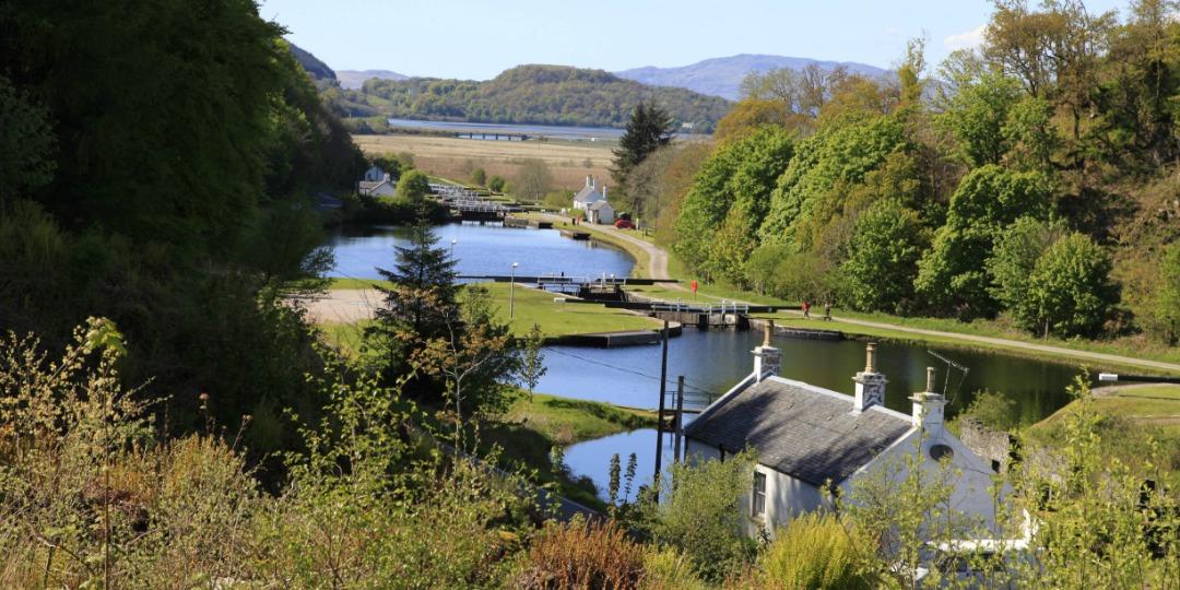 Crinan Canal near Ballanoch, Argyll