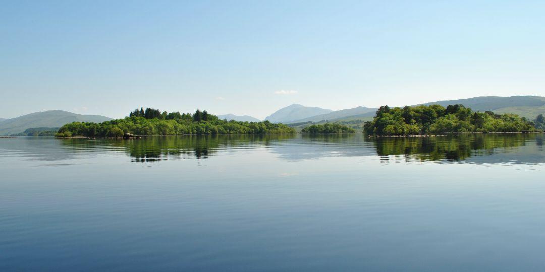 Loch Awe, Inishail Island, MacArthur, Kilchurn Castle
